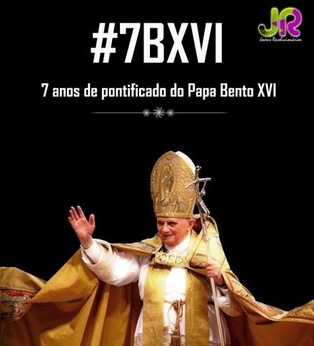 #7BXVI - Parabéns Bento XVI