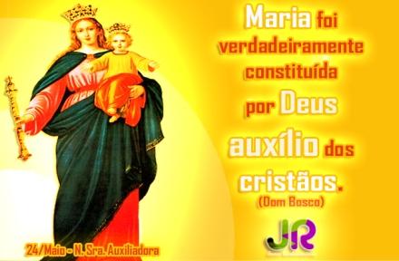 Mês de Maria| Nossa Senhora Auxiliadora