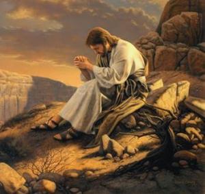 Jesus_praying_the_desert