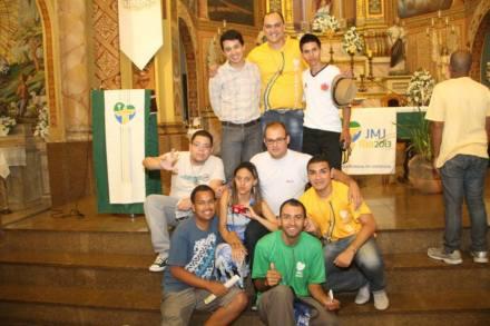 No fim da Santa Missa..