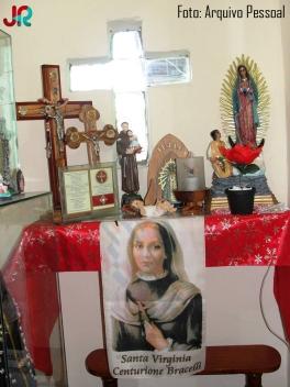 Oratório Santo Antônio pertencente à família do Prof. José Lira