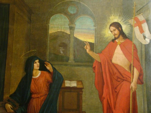 ressureição resurrexit virgem Jesus aparece a sua Mae.jpg